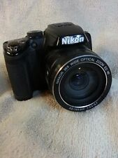 Nikon Coolpix P500 12.1MP with 36x Optical Zoom  Black