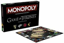 GAME OF THRONES MONOPOLY COLLECTORS EDITION NEW 6 X COLLECTIBLE METAL TOKENS