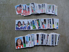 10 FKS Soccer Stars stickers 1975/76 - Choose 10 from list.