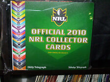 NRL COLLECTOR CARDS AND BINDER  - 2010 - COMPLETE SET
