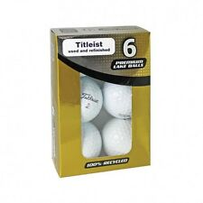 Titleist Reclaim Lake Balls Used Refinished Golf Ball 6 Pack
