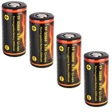 4PCS TrustFire 32650 6000mAh Rechargeable LI-ION Battery with PCB Protected C2DW