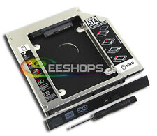 Dell Alienware M17x M18x R4 R2 R3 Laptop 2nd HDD SSD Caddy Second Hard Drive Bay