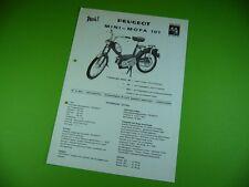406KA2 Prospekt (um 1970): PEUGEOT Mini - Mofa 101