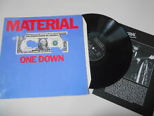 LP Jazz Material - One Down (8 Song) CELLULOID / Org Insert - Bill Laswell