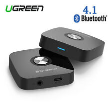 Ugreen 4.1 Wireless Bluetooth 3.5MM Car Audio Stereo Receiver Headphone Adapter
