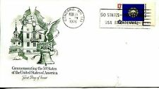 1976 STATE FLAGS NEW HAMPSHIRE ARTMASTER CACHET UNADDRESSED FDC