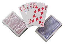 Couché plastique cartes à jouer pk 12 ponts black jack Rummy solitaire
