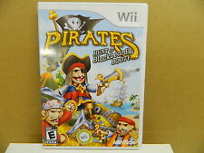 Wii PIRATES HUNT for Blackbeard`s BOOTY Complete w. Case & Booklet NO SCRATCHES