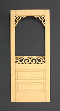 Dollhouse miniature screen door 1:12 scale