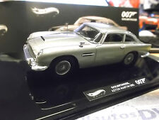 ASTON MARTIN DB5 007 James Bond Goldfinger TV Movie Film Hot Wheels Elite 1:43