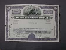 The Atlantic Refining Company - Stock Certificate azione Aktie acción share