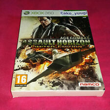 ACE COMBAT ASSAULT HORIZON LIMITED EDITION LIMITEE XBOX 360 NEUF EN FRANCAIS
