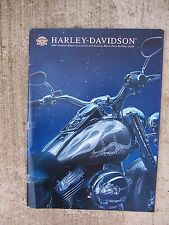 2004 Harley Davidson Motorcycle Motor Accessories Parts Catalog Holiday Guide  T