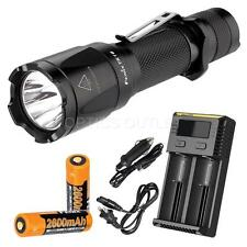 Fenix TK16 1000 Lumen Flashlight, 2x Fenix 18650 batteries and a Smart Charger