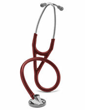 "3M LITTMANN MASTER CARDIOLOGY BURGUNDY STETHOSCOPE 27"" - NEW 2163 SALE PRICE"