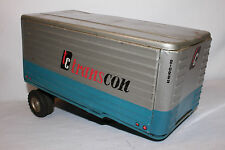 1960's Made in Japan, Tin Transcon Semi Truck Trailer, Nice Original