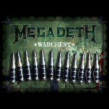 MEGADETH WARCHEST. COMPLETE 4+1 DISC/BOOK/BOX SET. ROCK/THRASH/HEAVY/SPEED METAL