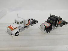 MES-51678 Yatming 1:128 2 St. US Zugmaschine Kenworth Made in Hong Kong