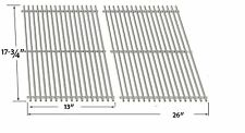 SS cooking grid for Bbqtek GSF2818KL,GSF2818KMN, Dyna-Glo DCP480CSP grill models