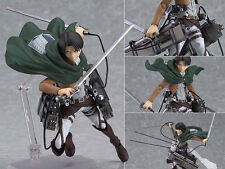 Japan Anime Figma Attack On Titan Levi Rivaille Action Statue Figure 10cm no box