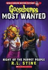 Night of the Puppet People Goosebumps Most Wanted #8
