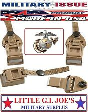 (2) Military USMC ILBE Rucksack & Army Multicam Assault Pack Replacement Buckles
