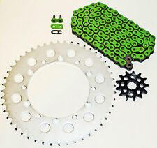 2006-2014 KAWASAKI KX250F 250 F GREEN CHAIN AND SPROCKET 14/48 114L