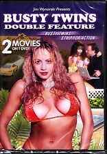 BUSTY TWINS DOUBLE FEATURE : BUSTY TWINS / STRIP FOR ACTION ADULT
