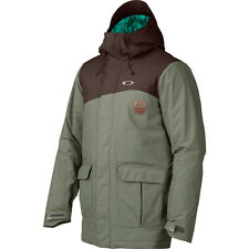 NEW Men's Oakley Jeda Ski Snow Snowboard Jacket Worn Olive Green Size Small S