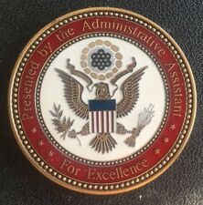 Authentic Administrative Assistant to the Secretary of the Army Challenge Coin