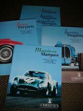 CHRISTIES AUCTION MONACO 1990 FERRARI 312 B3 BUGATTI TYPE 29/30 LANCIA STRATOS