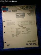 Sony Service Manual HTC W555 (#5017)