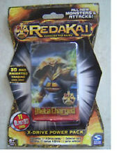 Redakai Conquer The Kairu Meta Charged (X-Drive Power Pack) 11 cards 1 Collector