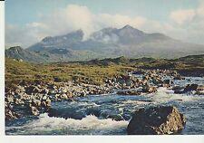 Vintage unused Arthur Dixon Postcard Scotland The Cuillins from Sligachan, 3729