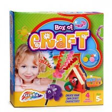 Box Of Craft Activity Birdhouse Dinosaur Make Your Own Character Jewellery Gift