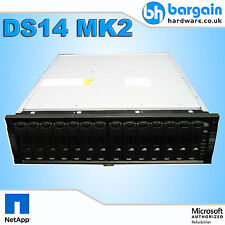 NetApp DS14 MK2 Disk Shelf Storage Array 3U No HDDs 2x Controller 2x PSU