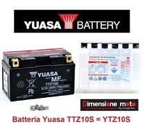 """Batteria YUASA TTZ10S 12V 9Ah = YTZ10S """"MF"""" per Honda CBR 600 RR (PC40) dal 2007"""