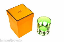 HERMES PARIS  bicchiere ref.Saint Louis in cristallo nuovo con scatola