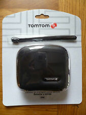 GENUINE TOM TOM ONE 125 30 SERIES HARD COVER DURABLE CASE WITH STRAP BLACK