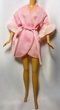 Vintage Barbie Doll Pink Night Dress Black and White label