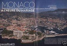 Coupure de presse Clipping 2011 Monaco l'heure du mariage Albert (26 pages)