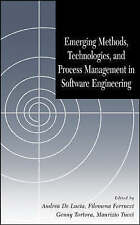 Emerging Methods, Technologies and Process Management in Software Engineering b
