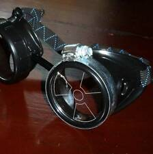 Steampunk goggles glasses novelty costume welding lens goth cyber club house P01