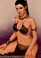 CARRIE FISHER PHOTO 8X10 STAR WARS Movie Princess Leia R.I.P CARRIE