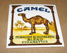 "1 Vintage CAMEL Cigarettes Vending Machine Plastic Label Tag 2"" x 2"""