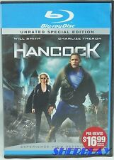 Hancock Blu-ray Disc 2008 2 Disc Set Unrated Special Edition
