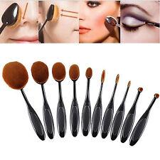 10 pcs Powder Eyeshadow Blus Professional Cosmetic Makeup Tool Brush Brushes Set