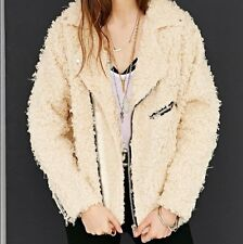 UNIF x Urban Outfitters Fur Moto Jacket