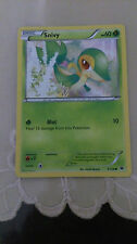 Snivy Pokemon Card COMMON [FATES COLLIDE]